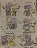 Iris and Brie Yuri Doodles (Pt. 2) by SmashArtist728