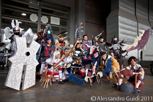 Monster Hunter Cosplay by MiciaGlo