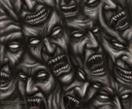 Wall of Horror by arcaneserpent