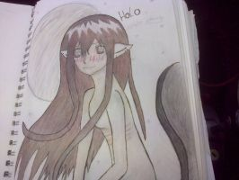 Holo (spice and Wolf) (coloured) by epicbubble7