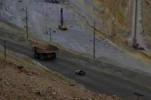Bingham Canyon Mine Trucks by Coi-kins