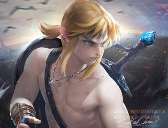 Link. Nsfw tag. by sakimichan