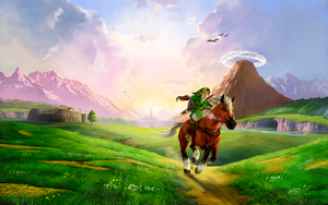 OoT 3D ArtWork HD by Link-LeoB