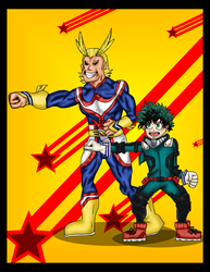 .:One For All:. BNHA by PhoenixGirl1