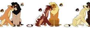 Lion Breedables OPEN by MikasAdoptables