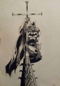Batman ink by FrankMR