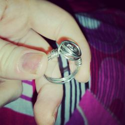 Wire Rose Ring Test by musical-box