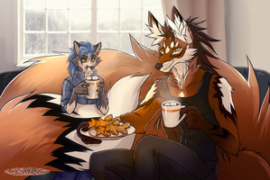 [Light comm] for Shiron - Tea Party by SHAKUMl