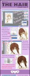 Tutorial : How to_Hair Part by mrsloth