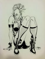 Supercon Sketch, Punk Rock Storm by Inkpulp