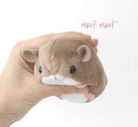 Tiny hamster sewing pattern by TeacupLion