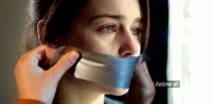 Emilia Clarke Mouth Taped Shut by SilentBeauties