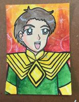 ATC Comm: Green Morrison Ranger by Magical-Mama
