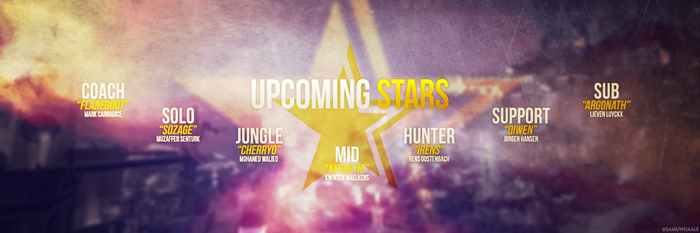 Smite Upcoming Stars Team Banner by Samuwhale