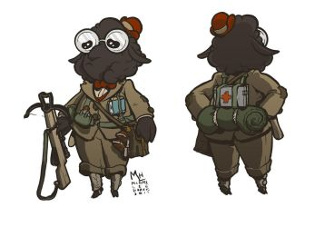 Sheep artificer for a cute campaign by michaelharris