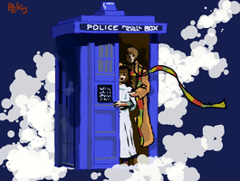 The Tardis by PeKj