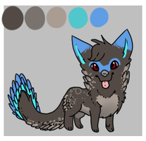 chibi canine auction-taken by Etched-In-Snow