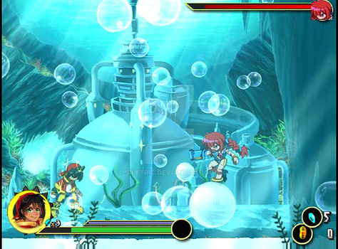 DTER2 - Mizu Bubble boss area updated by Skytric