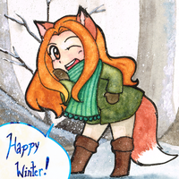 Happy Winter! by kabocha