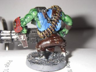 Heavy Weapons Ork back by Blarghmeister