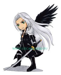 Chibi Sephiroth by Alkanet