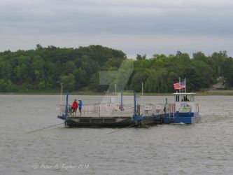 Fort Ticonderoga Ferry by peterkopher