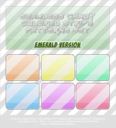 Axell: 6 Candy Colored Patterns by AxellPieces