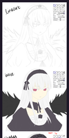 Process: Suigintou by neruteru