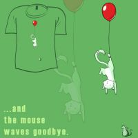 Woot Shirt - Waves Goodbye by fablefire