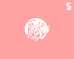 BabyFox-Logo by whitefoxdesigns