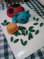 Catbug cake by Sci00