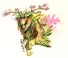 Spring Lion by phantos