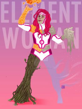Element Woman by HectorBarrientos