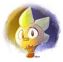 Quick Undertale Doodle - Monster Kid: Why... by SynDuo