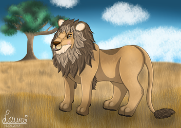 The Lion by DeerCrowShadow
