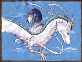 Spirited Away: Haku by Strayfish