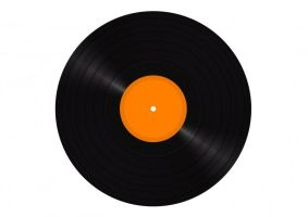 Vinyl LP Disc by superawesomevectors