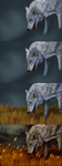 The Coming Storm WIPs by Koahara