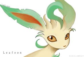 Leafeon by Landylachs