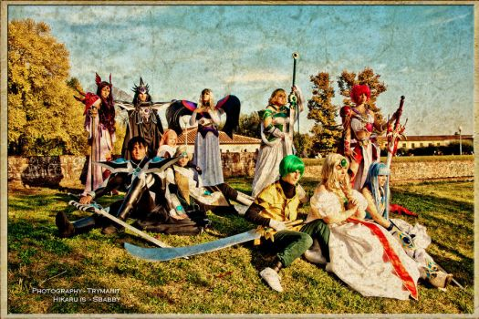Rayearth Cosplay Group by Sbabby