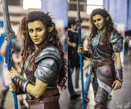Warcraft movie - Garona cosplay collage by ver1sa