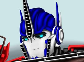 Optimus tfp by VendettaPrimus
