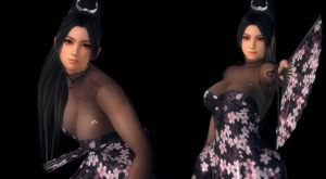 DOA5LR: MAI #12 - FLOWER DRESS by rivan8888