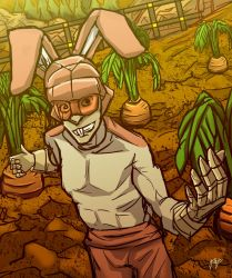 Rabbit Man by MikeOrion
