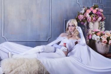 Marvel Comics.X-men Cosplay- Emma Frost (4) by Alex-Willow