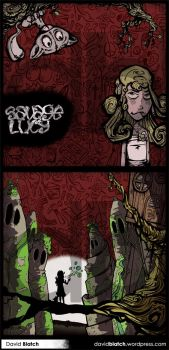 Savage Lucy Cd cover by DavidTheEye