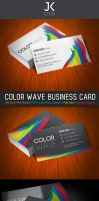 JK Color WAVE Business Card by KaixerGroup