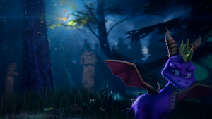 [SFM] Spyro: Dark Forest by ZOomERart
