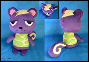 Animal Crossing - Static Plush by SewYouPlushieThings