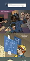 TF2 OCs - Ask the Blu Base - What makes you Happy? by The-Clockwork-Crow